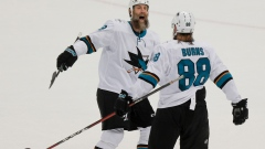 Joe Thornton Brent Burns