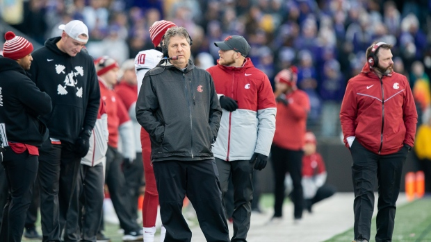 Leach leaving Washington State for Mississippi State