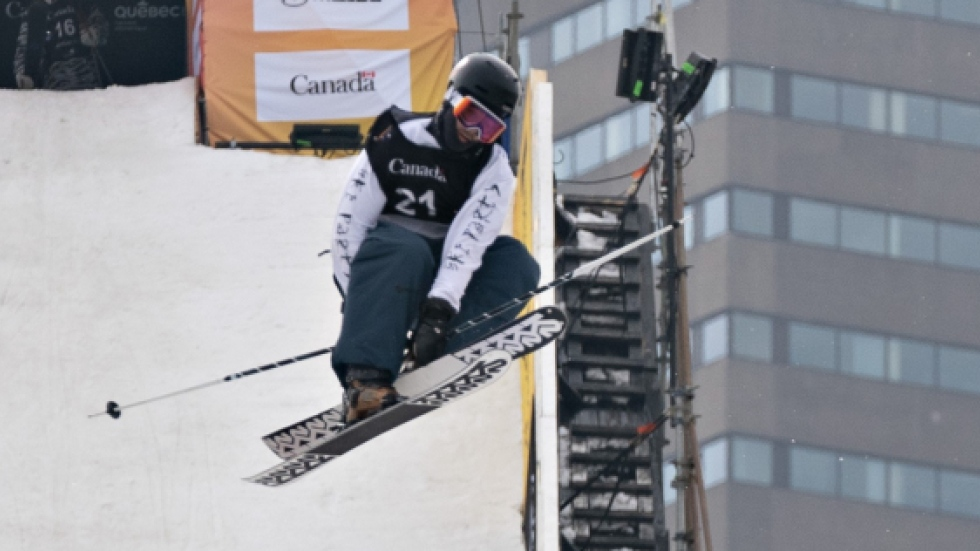 Three Canadian skiers in top 10 at slopestyle World Cup event