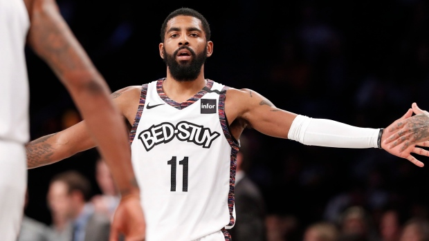 Kyrie Irving Returns To Lead Brooklyn Nets To Rout Of Atlanta Hawks Tsn Ca