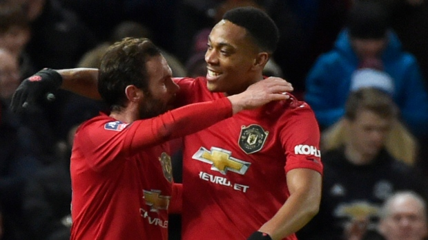 Juan Mata, Anthony Martial