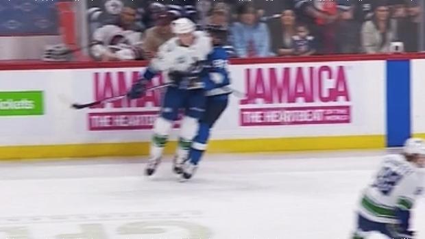 Winnipeg Jets' Mathieu Perreault tees off on NHL for no discipline of Vancouver Canuck Jake Virtanen - TSN.ca