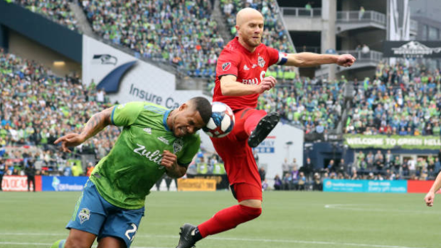 toronto fc captain michael bradley  ankle  out three to