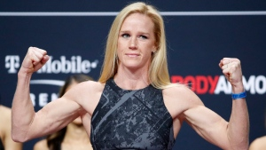 Report: Holm out of UFC Fight Night main event against Dumont, Ladd likely replacement