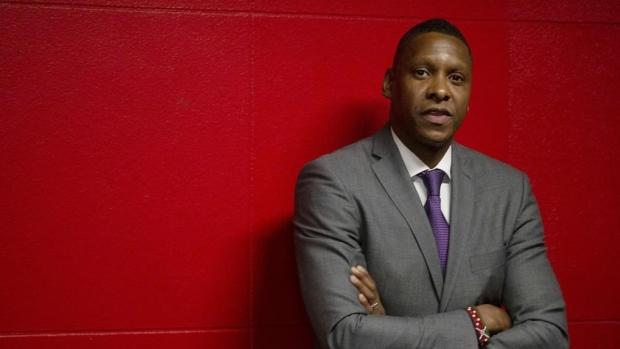 Raptors' Masai Ujiri Sued Over Cop-Shoving Incident at 2019 NBA Finals