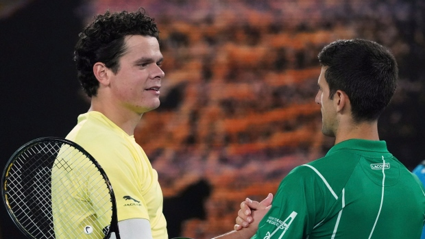 Milos Raonic Falls To Novak Djokovic In Straight Sets At Australian Open Tsn Ca