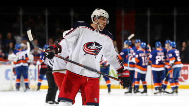 Columbus Blue Jackets' Josh Anderson may be done for year - TSN.ca