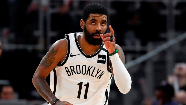 Nets guard Kyrie Irving to undergo shoulder surgery, done for season