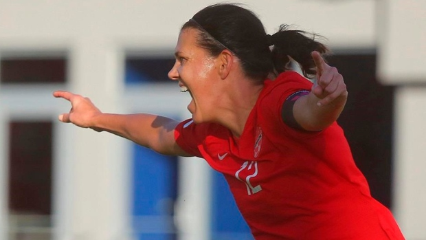 Canada's Christine Sinclair breaks record for most global goals