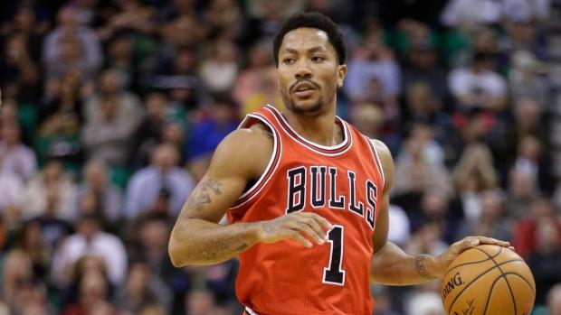 super popular ed154 ce67b Rose scores 18 in return to lineup, Bulls down Jazz - TSN.ca