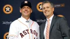 AJ Hinch and Jeff Luhnow