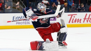 Blue Jackets sign Merzlikins to five-year extension