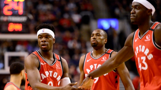 The Toronto Raptors are aiming for the top seed in the East.