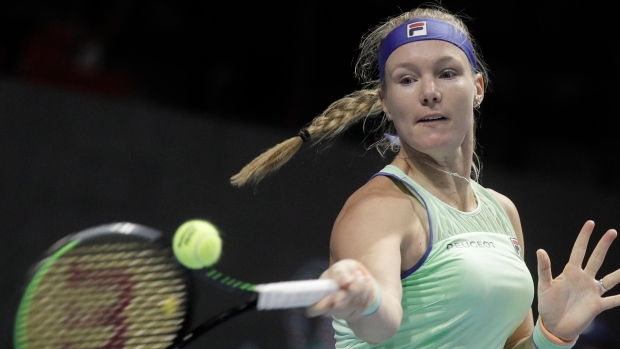 Bertens downs Rybakina to retain St Petersburg title