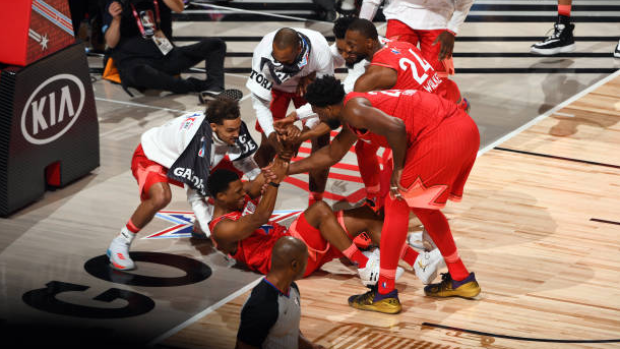 All-Stars help Kyle Lowry up