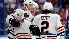 Kane, Toews lead Blackhawks over Panthers 3-2 in shootout Article Image 0