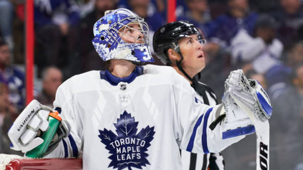 Leafs G Campbell: 'Jones outplayed me' - TSN