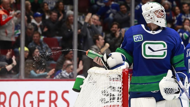 We Want Him Back Canucks Trying To Re Sign Goalie Jacob Markstrom Tsn Ca