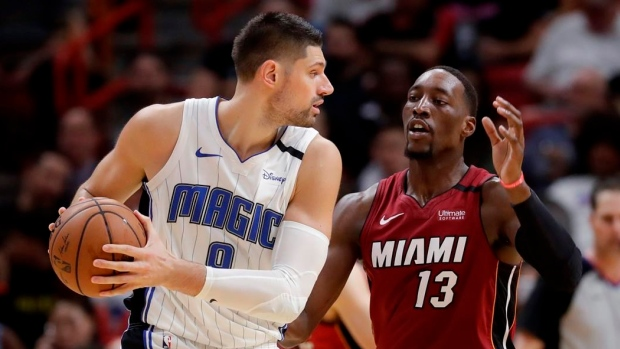 3 S Are Wild Miami Heat Set Record From Deep Top Orlando Magic Tsn Ca
