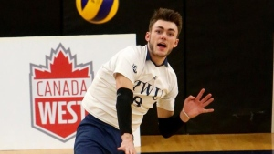 Trinity Western University volleyball teams look to add to brimming trophy case