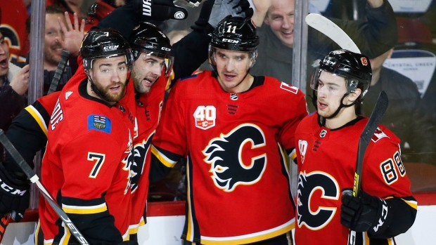 Matthew Tkachuk With Three Assists Paces Calgary Flames To Win Over Arizona Coyotes Tsn Ca