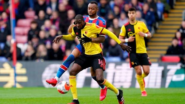 Jordan Ayew goal guides Palace to win over Watford in EPL - TSN.ca