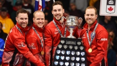 Brad Gushue Mark Nichols Brett Gallant Geoff Walker