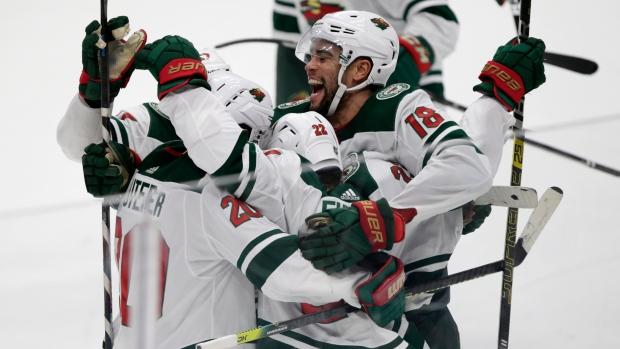 Kevin Fiala's second goal lifts Minnesota Wild past Anaheim Ducks in OT - TSN.ca