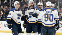 Alex Pietrangelo, Blues players celebrate