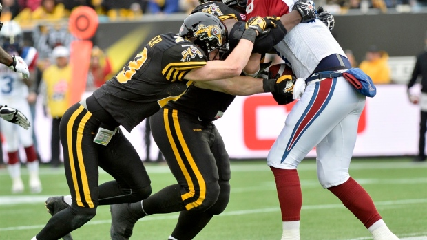 Tiger-Cats cornerback Delvin Breaux looks to crown comeback story with Grey Cup Article Image 0