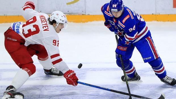 Khler Alexander Barabanov To Talk To Nhl Teams Tsn Ca