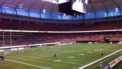 BC Place empty