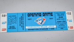 Toronto Blue Jays first game ticket