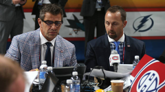 Marc Bergevin and Trevor Timmins