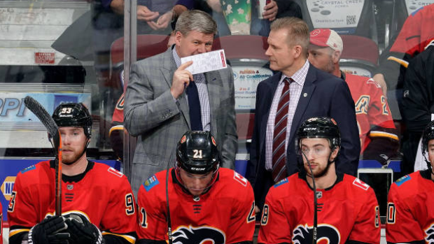 Calgary Flames Head Coach Geoff Ward Happy To See Bill Peters Land In Khl Tsn Ca