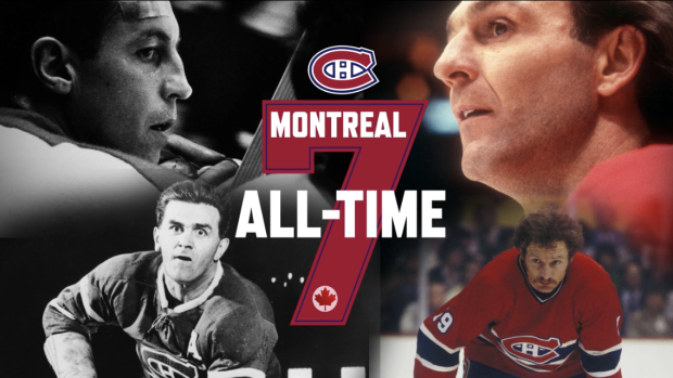 The All Time 7 Tsn S Montreal Canadiens All Time Team Tsn Ca