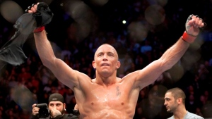 St-Pierre among UFC Hall of Fame inductees