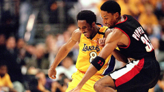 Kobe Bryant and Scottie Pippen