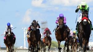 Jockey Gallardo guides Avoman to victory in $150,000 Plate Trial event at Woodbine