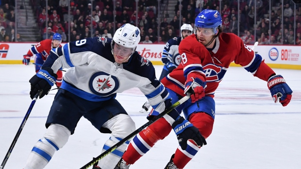 Montreal Canadiens, Winnipeg Jets in no hurry to return to ice - TSN.ca