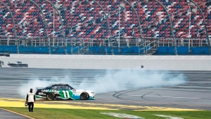 Haley captures first Xfinity Series victory