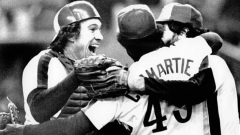 Gary Carter, Warren Cromartie and Jeff Reardon