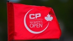 CP Women's Open Flag stick
