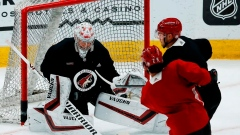 Coyotes banking on two goalies when season resumes Article Image 0