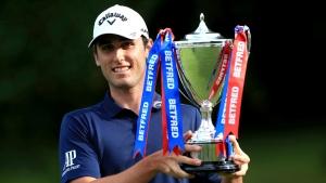 Paratore wins British Masters