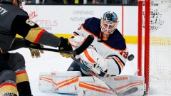 Goaltenders in spotlight for Blackhawks-Oilers series Article Image 0
