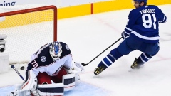 Maple Leafs finally solve Joonas Korpisalo, even series with Blue Jackets 1-1 Article Image 0