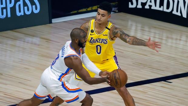 Los Angeles Lakers vs OKC Thunder (მიმოხილვა)