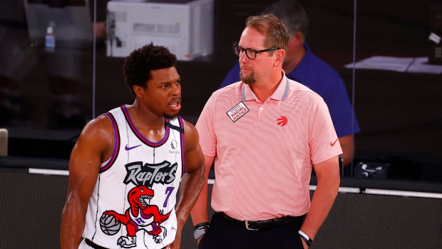 Toronto Raptors Coach Nick Nurse A Fan Of Afternoon Playoff Games In The Nba Bubble Tsn Ca
