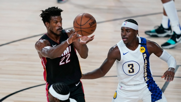Jimmy Butler Miami Heat Beat Indiana Pacers To Take 3 0 Lead Tsn Ca